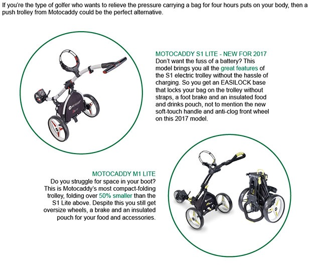 Motocaddy Article