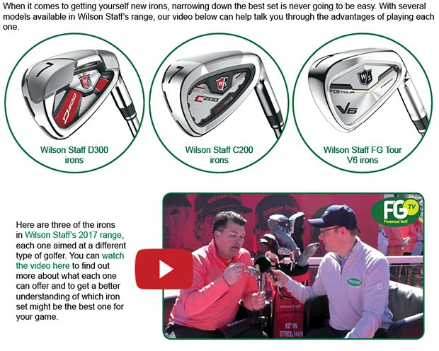 Wilson Irons Article