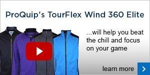 ProQuip TourFlex Wind 360 Elite outerwear