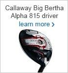 Callaway Big Bertha 815 driver