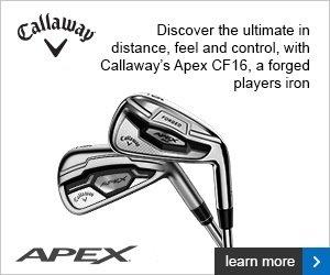 Callaway Apex CF16 irons