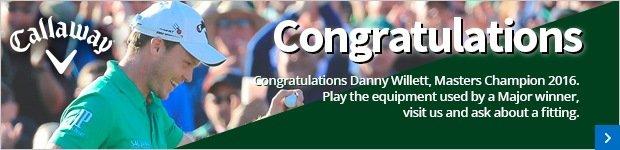 Congratulations Danny Willett