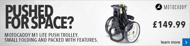 Motocaddy M1 Lite push trolley