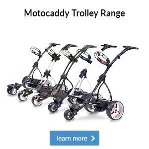 Motocaddy electric trolley range