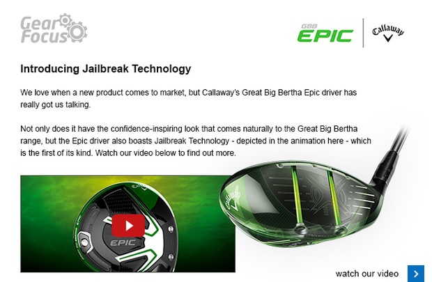 Introducing Callaway's GBB Epic driver