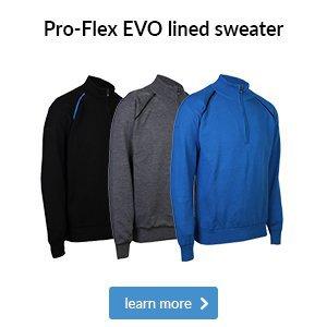 ProQuip Pro-Flex merino lined sweater
