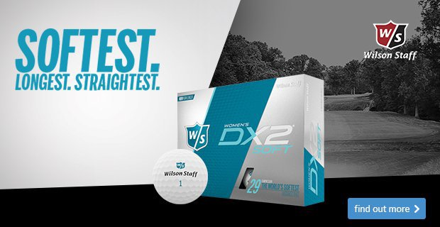 Wilson Staff Women's DX2 Soft Golf Balls